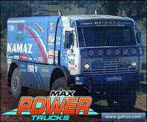 لعبة الشاحنات الناقلة Max Power Trucks