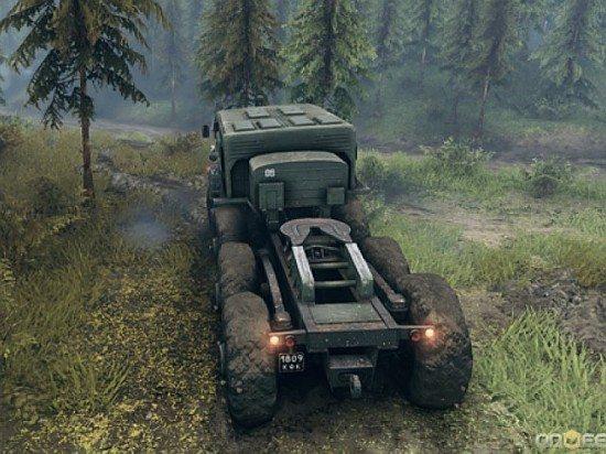 لعبة قيادة الشاحنات Spin Tires