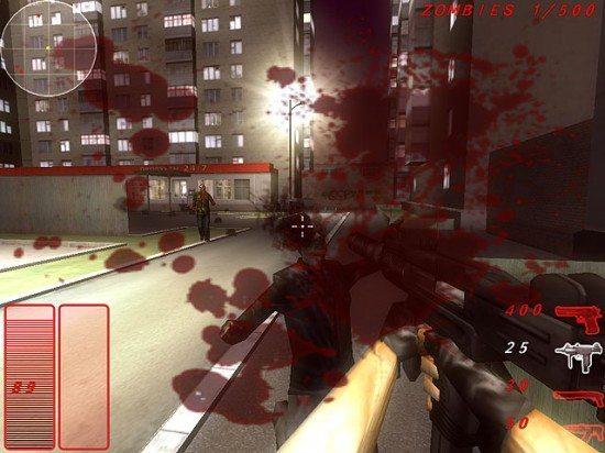 لعبة اطلاق النار على الزومبي Zombie Apocalypse Shooter