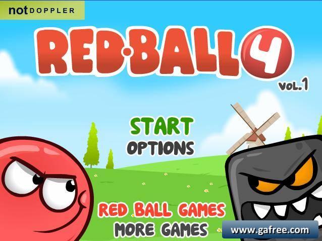 تحميل لعبة red ball 4 مهكرة