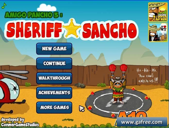 لعبة انقاذ الرجل Amigo Pancho 3