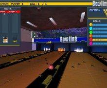 لعبة البولينج E Bowling