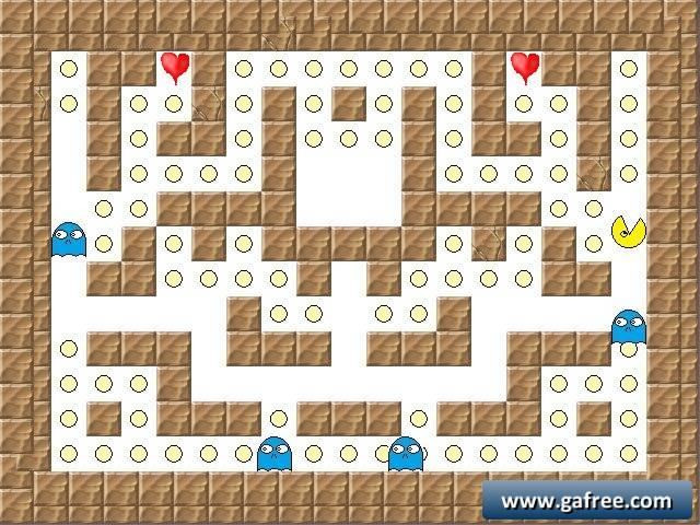 لعبة باك مان Pacman By Zip