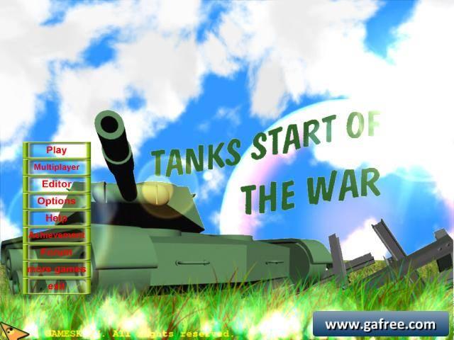 لعبة الدباب المدمر Tanks Start Of The War