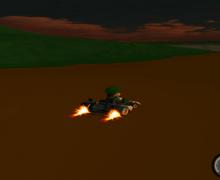 لعبة السباق السريع Brooom