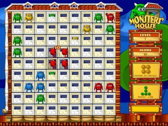 لعبة بيت الوحوش Monsters House