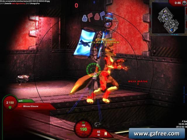 لعبة قتال الاعداء Vore Tournament