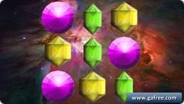 لعبة استكشاف الفضاء Match3 Maze