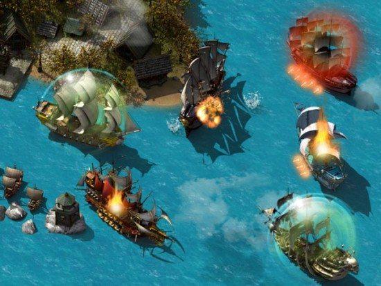 لعبة حرب القراصنة Pirate Storm