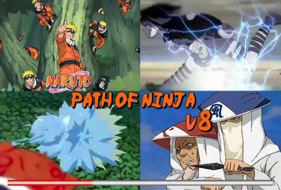 تحميل لعبة ناروتو Naruto Path Of Ninja 8