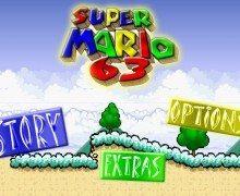 لعبة مغامرات سوبر ماريو Super Mario 63