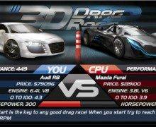 لعبة سيارات ثلاثية الابعاد 3D Drag Race 2