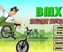 لعبة الدراجة الهوائية BMX - Street Stunt