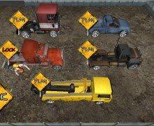 تحميل لعبة ركن الشاحنات Crazy Parking Truck King 3D