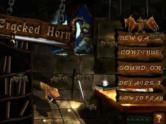 لعبة حرب القلعة Cracked Horn
