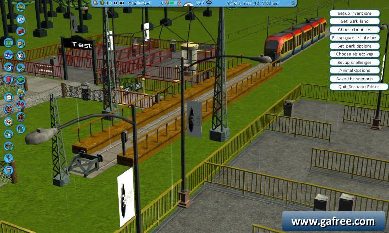 لعبة بناء مدينة الملاهي RCT3 Mega Pack