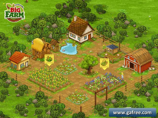 لعبة المزرعة للتحميل Big Farm