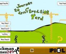 لعبة الرجل النطاط Journey to Construction Yard