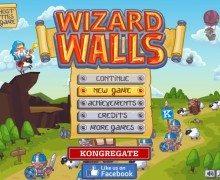 لعبة الهجوم الاستراتيجي Wizard Walls