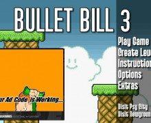 لعبة القذيفة المدفعية Bullet Bill 3
