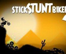 لعبة مغامرات الدراجة Stick Stunt Biker 2