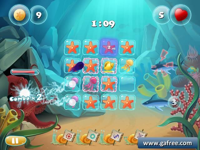 لعبة المتشابهات السمكة 15 Defense