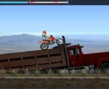 لعبة الدراجات النارية الخطيرة Mountain Bike