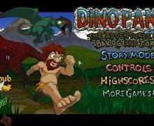 لعبة رجل الكهف Dino Panic