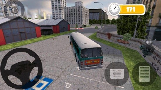 لعبة ركن الباص HD BUS PARKING