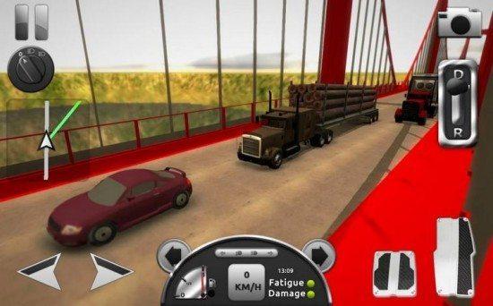 لعبة سياقة الشاحنة Truck Simulator 3D