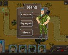 لعبة حرب الزومبي Mexican Zombie Defense