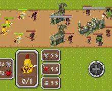 لعبة حماية القلعة The Castle Dark Times
