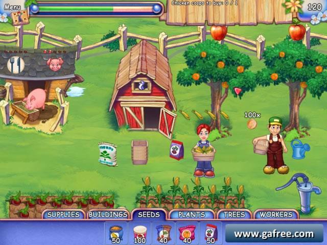 لعبة مزرعة العائلة Farmcraft