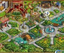 لعبة بناء الحديقة Gardenscapes
