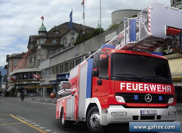 لعبة سيارة اطفاء الحريق Great Heroes - Firefighters