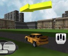 لعبة سيارة الاجرة المجنونة Crazy Taxi Driver