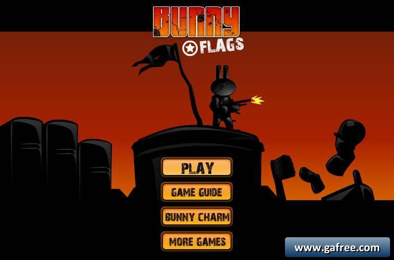 لعبة الارنب المغامر Bunny Flags