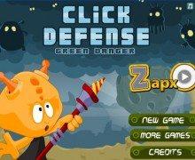 لعبة الدفاع عن البرج Click Defense