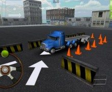 لعبة ركن شاحنات Truck Parking 3D