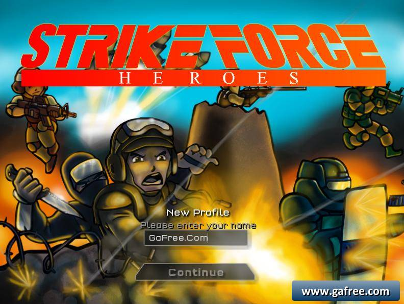 تحميل لعبة الحرب Strike Force Heroes