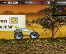 لعبة الشاحنات اندرويد Monster Truck