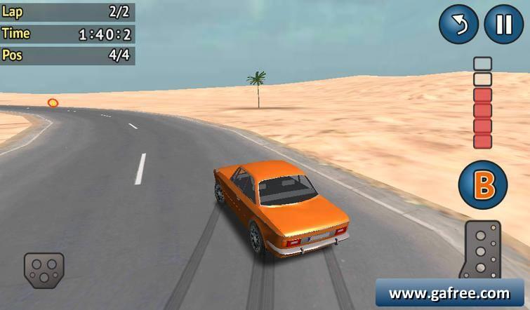لعبة قيادة السيارات اندرويد Rallycross