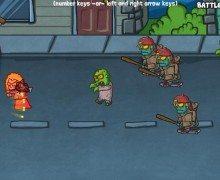 لعبة هجوم الزومبي Zombie Situation