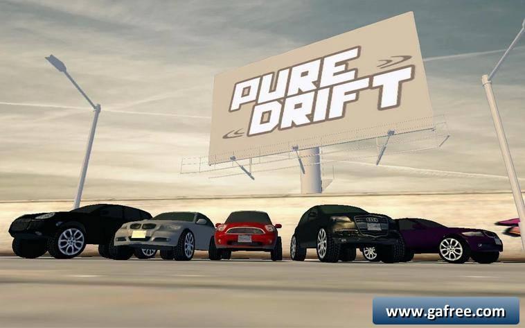 لعبة سيارات سباق Pure Drift