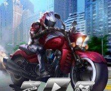 لعبة سباق الدراجات النارية AE 3D Motor