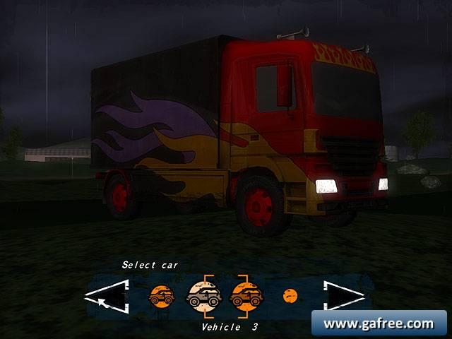 لعبة قيادة الشاحنات Night Truck Racing