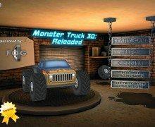 لعبة شاحنات ثلاثية الابعاد Monster Truck 3D Reloaded