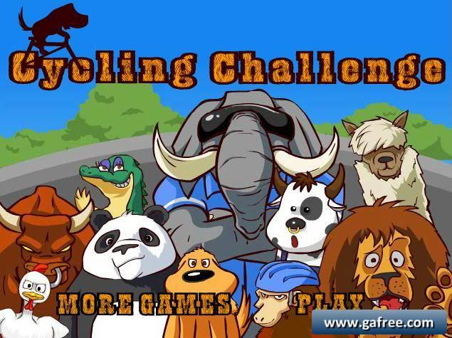 لعبة سباق الحيوانات Cycling Challenge