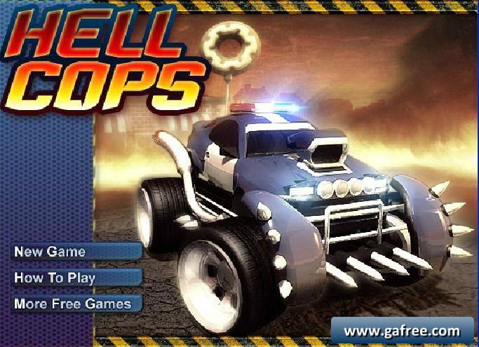 لعبة سيارة الشرطة المجنونة Hell Cops