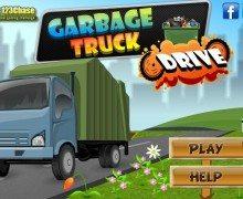 لعبة شاحنة القمامة Garbage Truck Drive